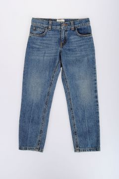 Stonewashed Denim Jeans