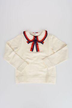 Sweatshirt With Bow