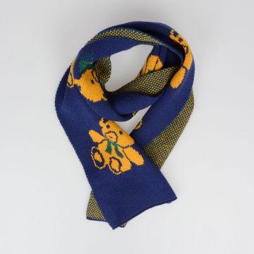 Sciarpa in Lana con Intarsio ORSI 210 x 20 cm