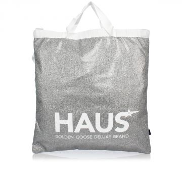 Fabric GLITTER Shopper Bag