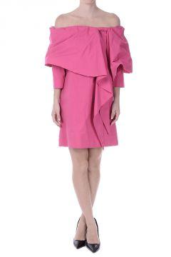 Vestito Corto in Misto Cotone