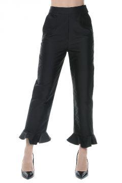 Ruffled Hem Pants