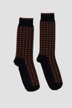 Cotton blend  PIED DE POULE  Socks