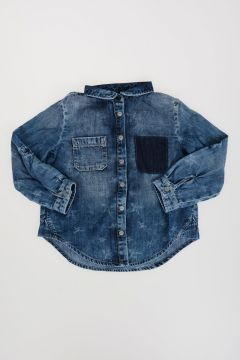 Stonewashed Denim Shirt