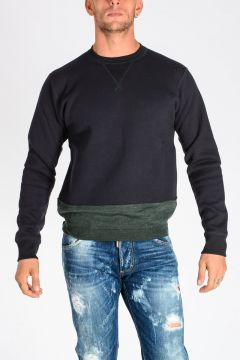 Cotton and Wool Sweatshirt