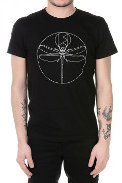T-shirt CUSTOM DRAGONFLY Stampata