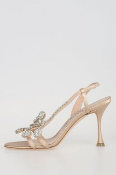 Satin FERNUSAN Jewel Sandals