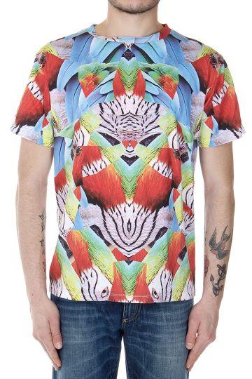 T-shirt MATTE con fantasia astratta