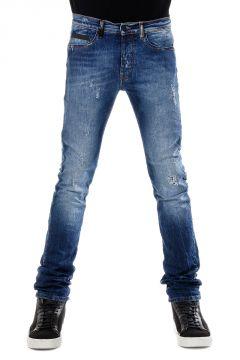 Jeans Slim Fit in Denim Stretch 18 cm