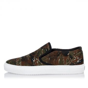 Slip On Camouflage Sneakers