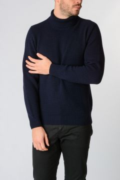Jumper HUGO in Cashmere con collo Alto