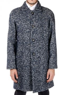 HOMME Cotton and Wool Coat