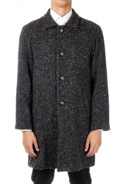 HOMME Virgin Wool Blend Coat