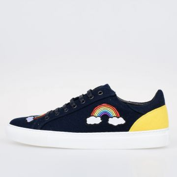 Fabric Rainbow Sneakers