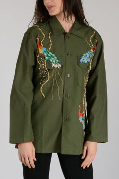 Cotton Embroidery Shirt
