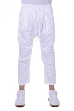 CUPRO HAREM Mixed Cotton Trousers