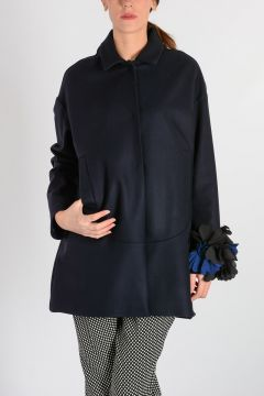 OVETTO Single Breasted Coat