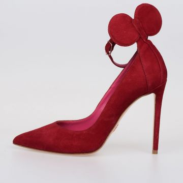10cm Leather MINNIE Pumps