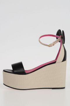 Leather MINNIE Wedges