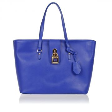 Borsa Shopper Grande in Pelle