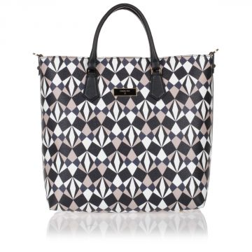 Printed Shopper Handbag