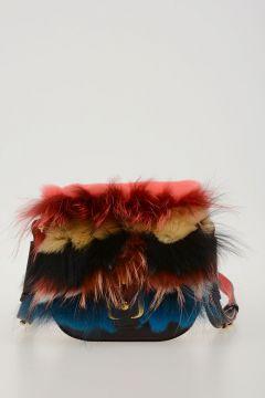 Real Fur & Leather BETH Bag