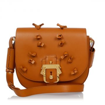 PETIT BABETH Leather Shoulder Bag