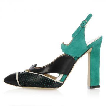 Sandalo EMILIE in Pelle Tacco 11 cm