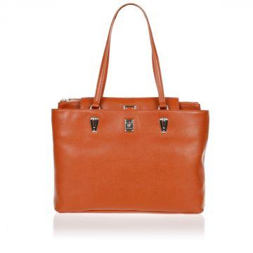 LINEA BOLD Borsa Shopping in Pelle