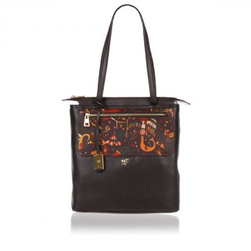 MAGIC CIRCUS Borsa Shopper in Pelle