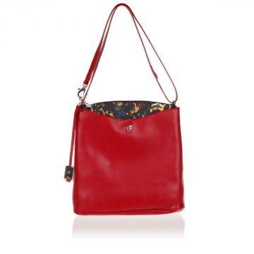 MAGIC CIRCUS Leather Shoulder Bag