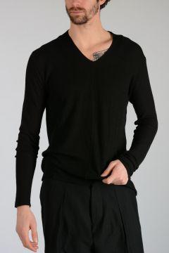 Cotton Silk Blend Sweater