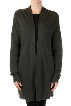 Cardigan JUNGLE in Cashmere senza Bottoni