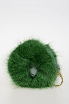 BENNIE MASCOT Faux Fur Bag Charm