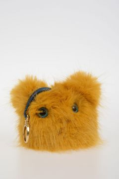 JERRY MASCOT Faux Fur Bag Charm