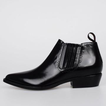 3 cm Leather Ankle Boots