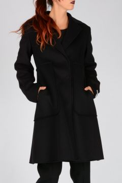 Virgin Wool & Angora ANDREIS Coat
