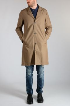 Single Breasted KIVIK Raincoat