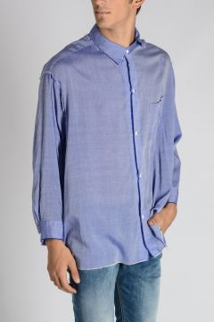 Shirt With Detachable Collar