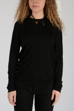 Long Sleeves Top with Padlock
