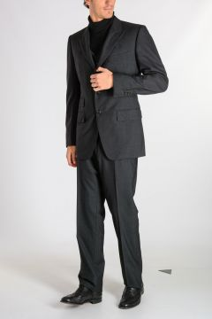 Wool 3 Pieces Suit