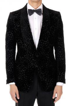 Silk and Cotton Floral Embroidery Blazer