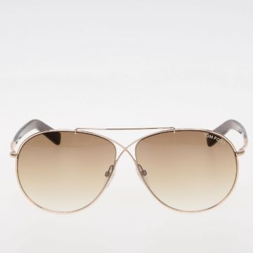 Gold Tone Eva AVIATOR sunglasses