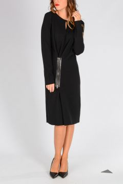 Virgin Wool Blend knit Dress