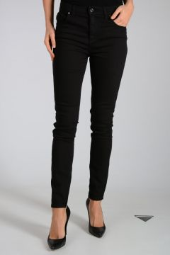 Jeans Con Zip Alla Caviglia 12cm