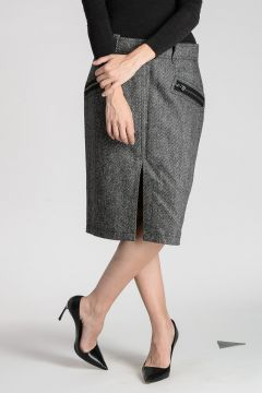 Cashmere Wool Skirt