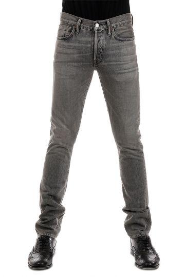 Jeans SLIM in Denim Grigio 16 cm