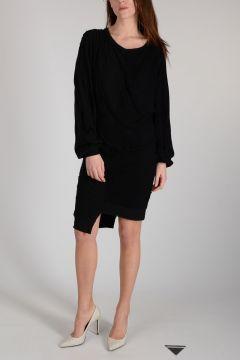 BEN TAVERNITI Oversize Cotton Dress