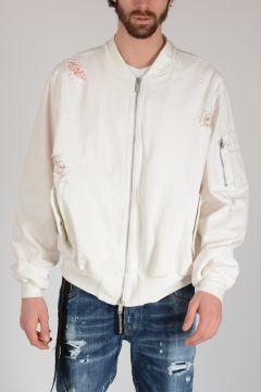 BEN TAVERNITI Distressed Denim Jacket