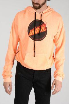 BEN TAVERNITI Hooded and Printed Sweatshirt